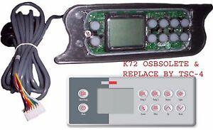 LA-Spas-Topside-control-keypad-PL-49775-Gecko-TSC-72-K-72-10-buttons-10-039-cable