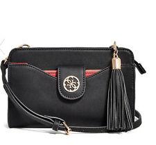 NWT GUESS Lacy multi organizer Crossbody Handbag Purse Black