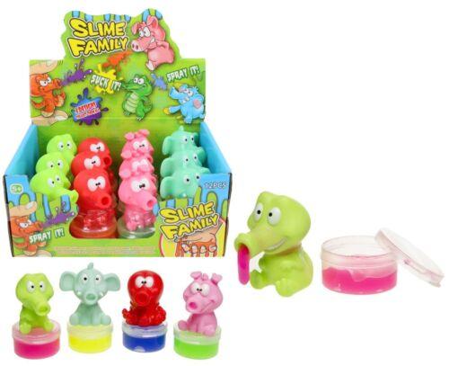 souvenirs Mitgebsel Nouveau mucus animaux 4 pièces pour enfants anniversaire