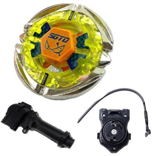 Metal Fusion 4D Beyblade Flame SAGITTARIO BB35 With Power Launcher Handle GO