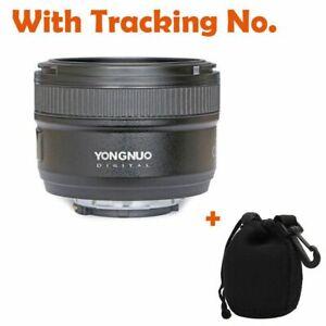 YongNuo-50mm-f-1-8-primer-Lente-Fijo-amp-Accesorios-Regalo-para-Canon-EF-EOS-Camara