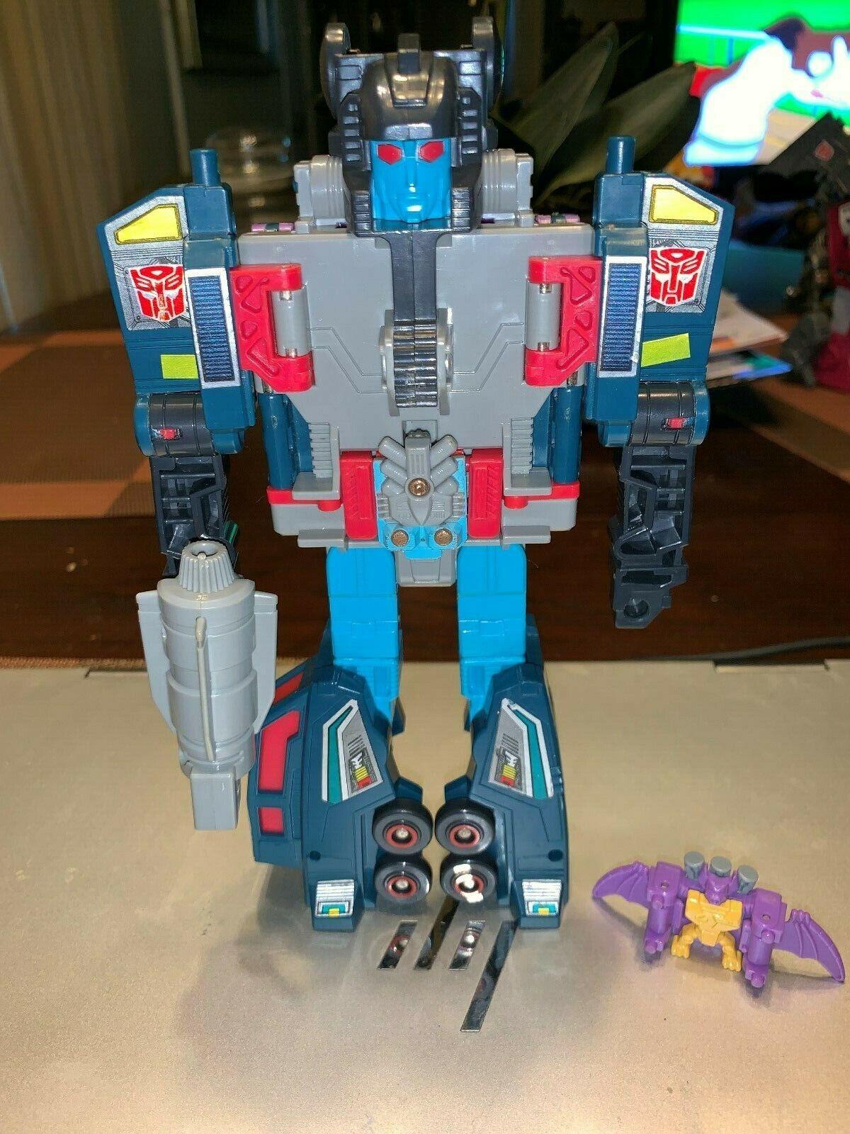 Doubledealer con Skar & Knok 1988 Transformers G1 Vintage Original impresionante LQQK
