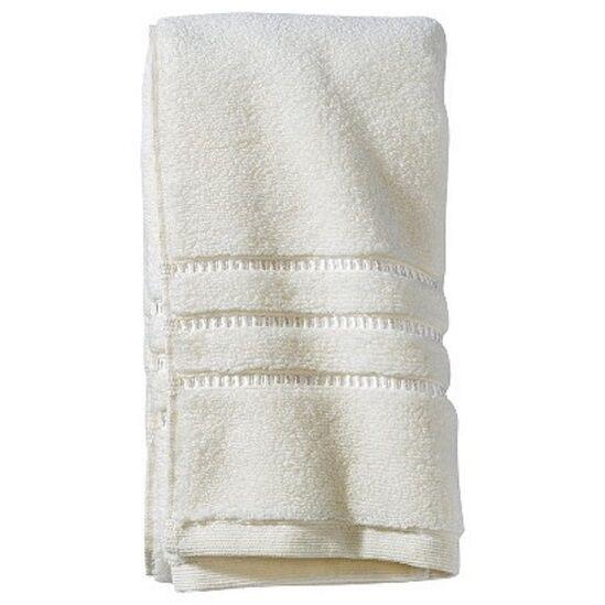 Fieldcrest Luxury Shiny Dobby Hand Towel Shell