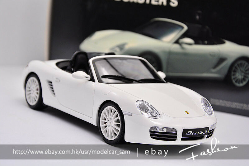Kyosho 1 18 Porsche Boxster S RS60 Blanc