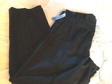 MEN'S DOCKERS BLACK PANTS TROUSERS CLASSIC FIT FLAT FRONT ORIGINAL KHAKI NWT 34