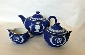 Wedgwood Coronation King George VI / Queen Elizabeth Tea Set 1937