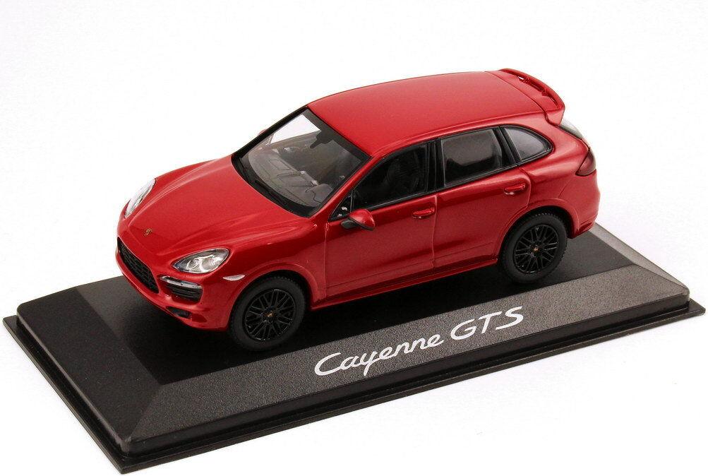1 43 Porsche Cayenne GTS 2012 rot rot - Dealer-Edition - OEM - Minichamps  | Ein Gleichgewicht zwischen Zähigkeit und Härte