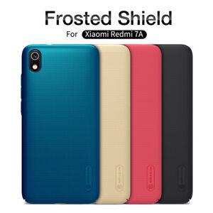Pour-Xiaomi-Redmi-7-NILLKIN-Super-Frosted-Shield-Slim-Matte-Hard-Skin-Case-Cover