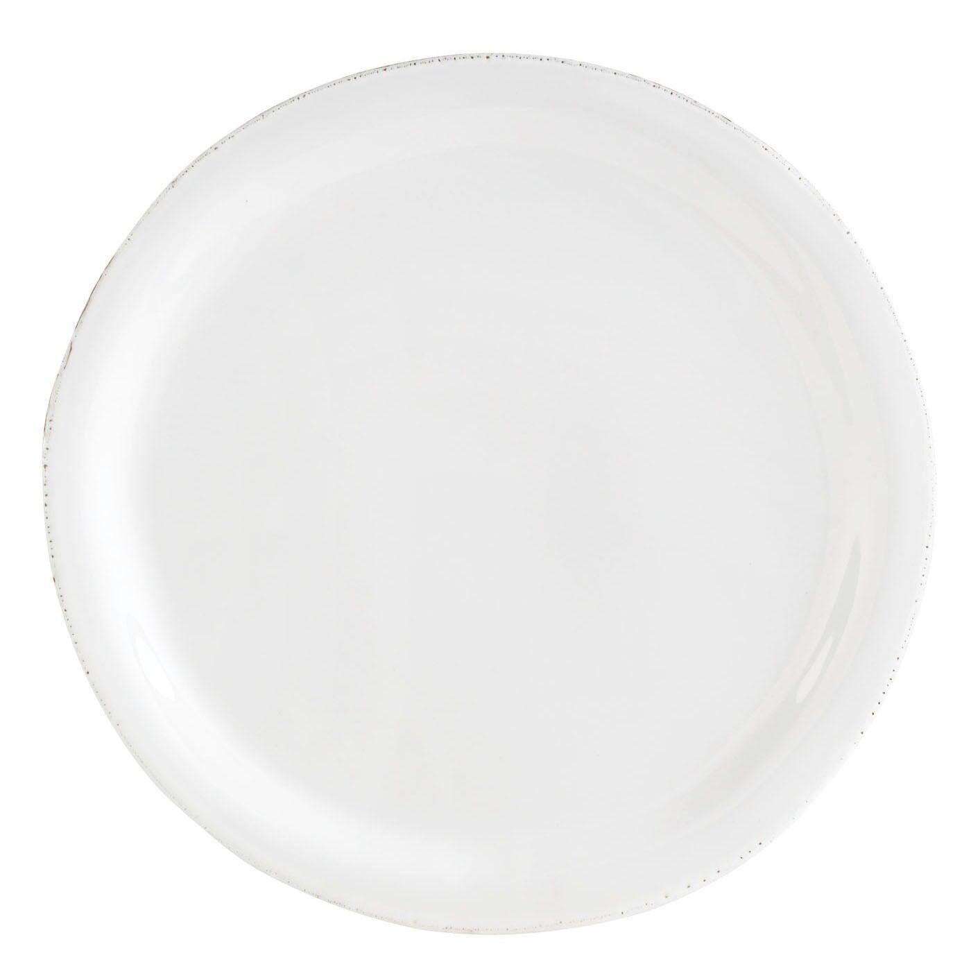 Vietri Bianco Piatto Piano - Set di 4