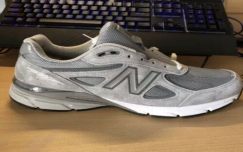 New Balance M990GL4 Size 9.5 Running Shoes - Grey/