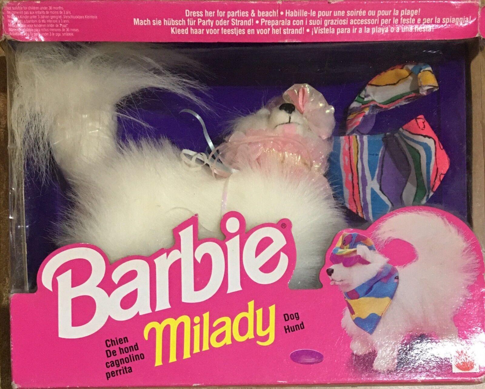 Barbie Mattel Mattel Mattel Milady Cagnolino Anno 91' 2f814a