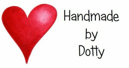 Red Love Heart 260 Personalised Mini Address labels Handmade etc
