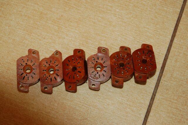 IN-12A IN-12B IN-15A IN-15B IV-22 USED Socket 12pin for nixie tubes 1pc.