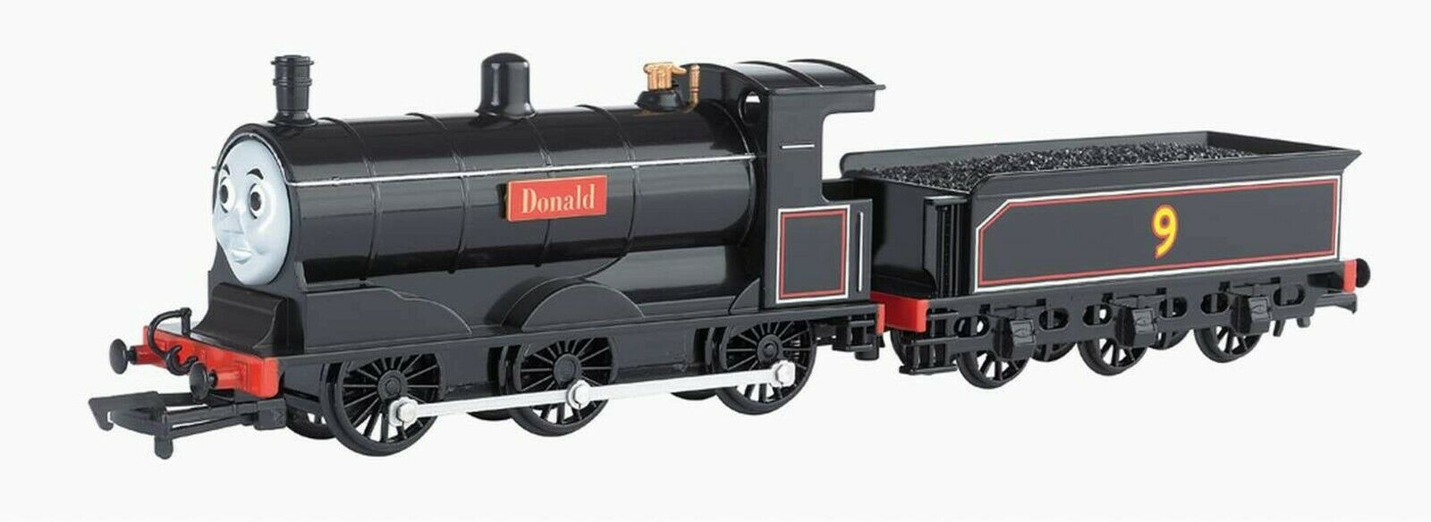 BACHuomoN HO SCALE ELECTRIC THOMAS & FRIENDS DONALD LOCOMOTIVE wMoving Eyes