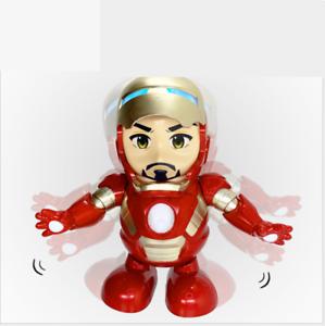 Dancing-Iron-Man-Figure-Hero-Marvel-Avengers-Infinity-War-Electric-Sound-Toy-LED
