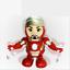 Dancing-Iron-Man-Figure-Hero-Marvel-Avengers-Infinity-War-Electric-Sound-Toy-LED thumbnail 1