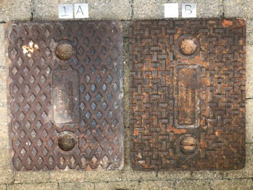 Old Cast Iron Manhole Covers Selection