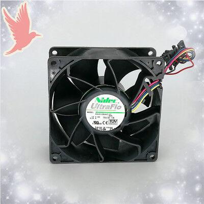 1pc new fan freeship V92E12BUA7-07 12V 3.24A NIDEC 9CM