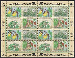 ONU Vienne 1996 cachet MiNr. 205-208 espèces menacées-afficher le titre d`origine zBsQoyu2-07140212-511777439