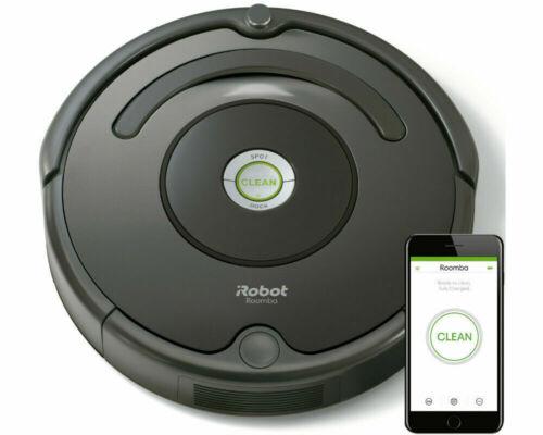 IRobot Roomba 676 Saugroboter Aspirateur environ noir neuf neuf dans sa boîte