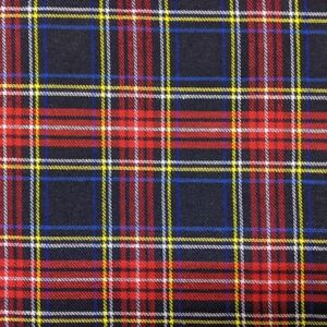 100/% Polyester Tartan Fabric Fashion Skirt Dress Dungarees Trousers 150cm Wide