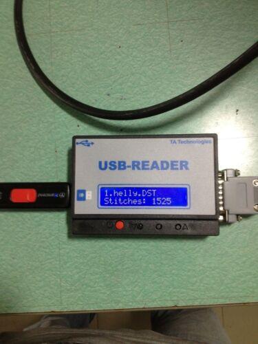 TME-HC TME-DC.... External USB READER for old Tajima embroidery machine TMEF-H