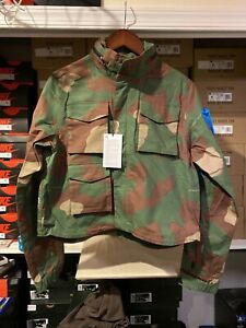 SOLD-OUT-NEW-WITH-TAGS-Nike-x-Off-White-Women-039-s-Camo-Jacket-Size-Medium