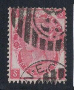 Grossbritannien-1867-Mi-28-Gestempelt-40-3-Pence-Koenigin-Victoria