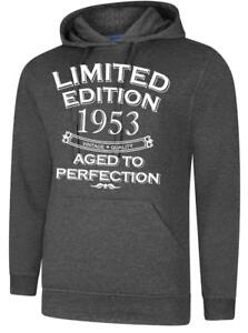 Image Is Loading 65th Birthday Gift Present Year 1953 Mens Hoody