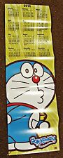 "DORAEMON Door or Wall Calendar 2015 - 35"" x 11"" - Full Color Double sided  comic"