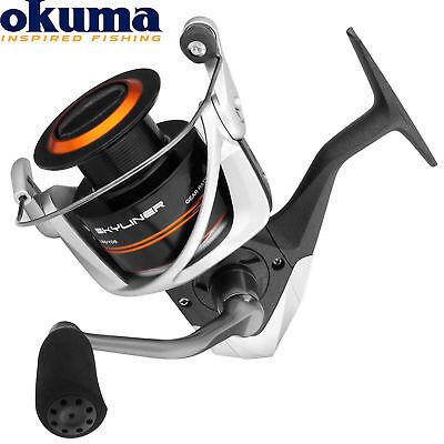 Spinnrolle Okuma Skyline 3000 FD Stationärrolle für Zander und Barsch