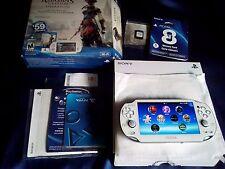 Playstation PS Vita White Assassins Creed Edition + 8GB Memory Card + Game