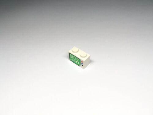 LEGO Parts Brick 1 x 2 Decorated Choose Model