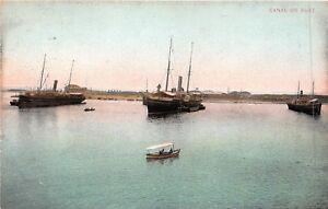 POSTCARD-EGYPT-Suez-Canal