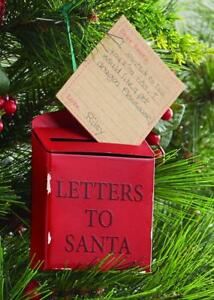 Christmas Mailbox.Details About Mud Pie Kids Letters To Santa Mailbox Christmas Tree Ornament
