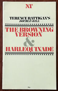 The-Browning-Version-amp-Harlequinade-by-Terence-Rattigan-NT-Theatre-Programme-198