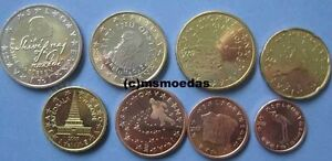 Slowenien Kms 8 Euromünzen 2010 Mit 1 Cent Bis 2 Euro Slovenia Euro