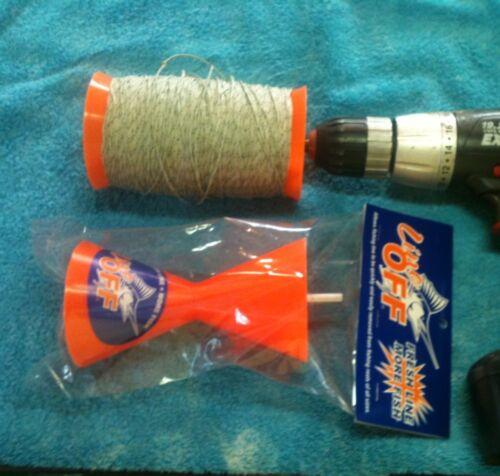 LINEOFF Worlds Best Multi Reel Fishing Line Remover Winder Spooler Tool lifegarr