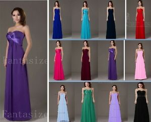 Stock-Bridesmaid-Evening-Prom-Dress-ballgown-Cocktail-Formal-Size6-8-10-12-14-16