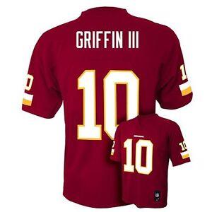 NFL Team Apparel ROBERT GRIFFIN III RG3 Redskins! Home Jersey ...