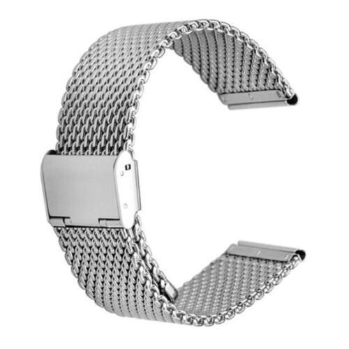 HOT Milanese Edelstahl Quick Release Uhrenarmband Bügel Für Pebble Time Round #