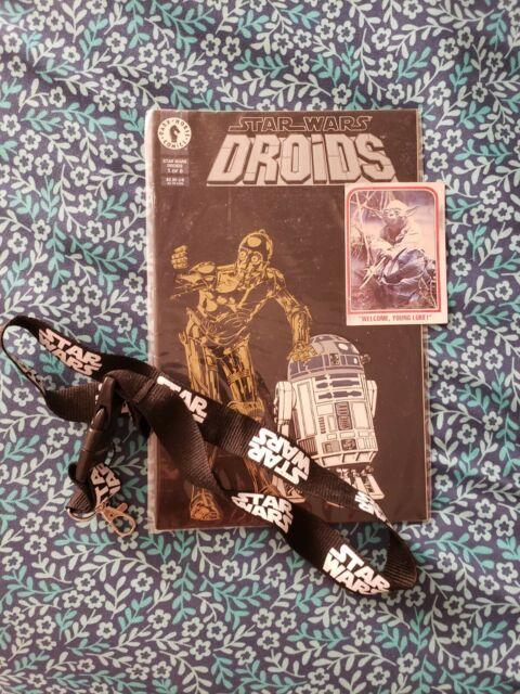 Star Wars Trilogy Fun Value Pack Droids, Lanyard, Yoda
