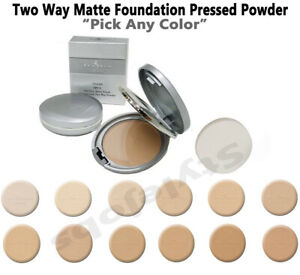 """Italia Two Way 2 in 1 Matte Pressed Powder Foundation """" Pick Any Color """""""