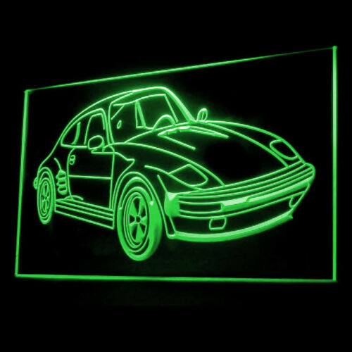 220061 Race Racing Fantasy Sport Car Speed Enjoy Awesome Exhibit LED Light Sign