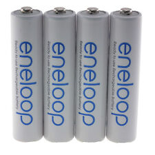 4x Panasonic AAA ENELOOP NiMH 800mAh Rechargeable batteries BK-4MCCE - UK Seller
