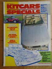 Kitcars & Specials Feb 1985 Milano, Marcos, KVA GT40
