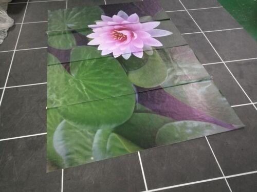 3D Pink sacred lotus 1 WallPaper Murals Wall Print Decal Wall Deco AJ WALLPAPER