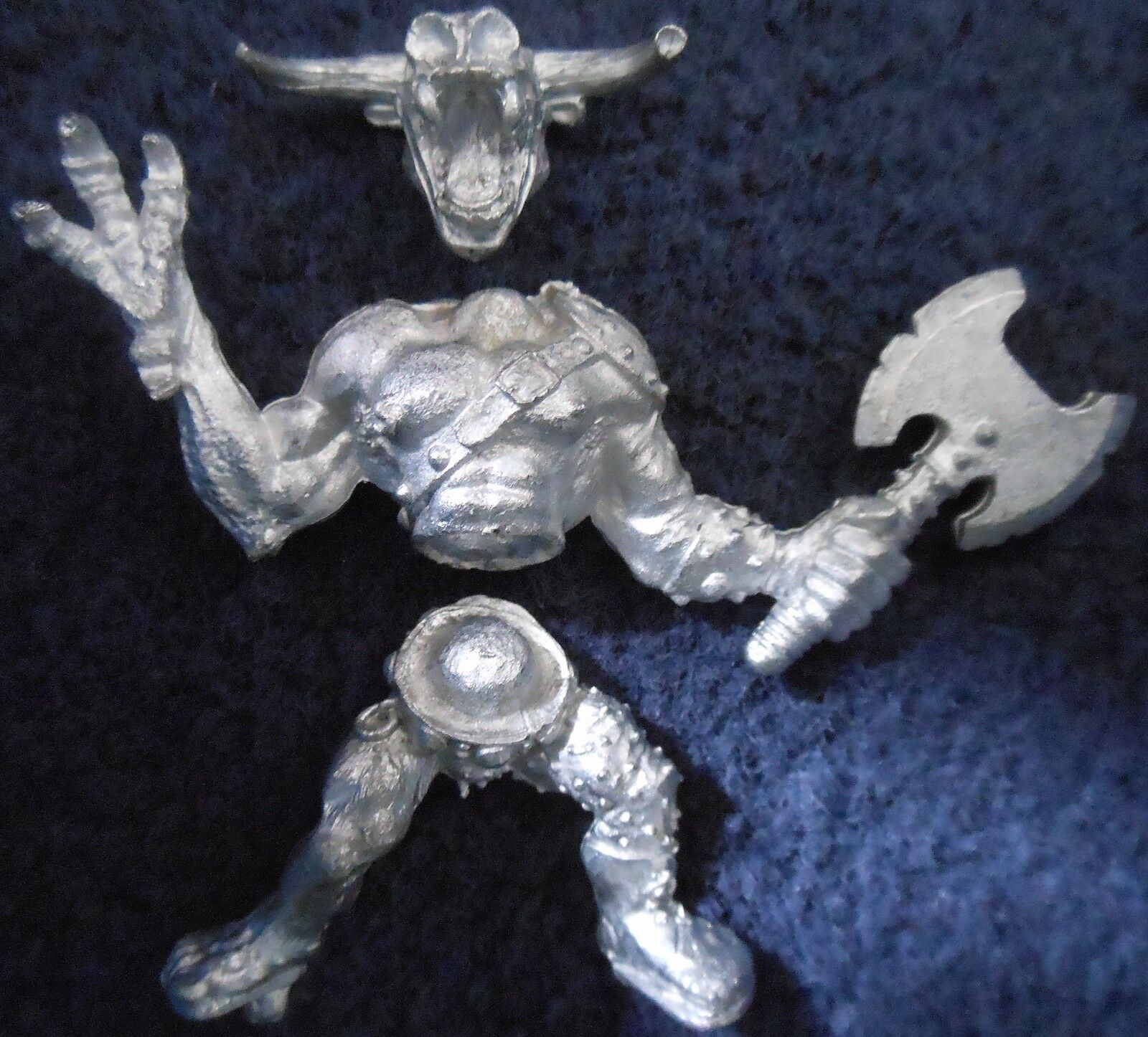 1987 Chaos Minotaur Lord C34 Sir Loin Foul Breath 4 Citadel Beasts Beastmen Army