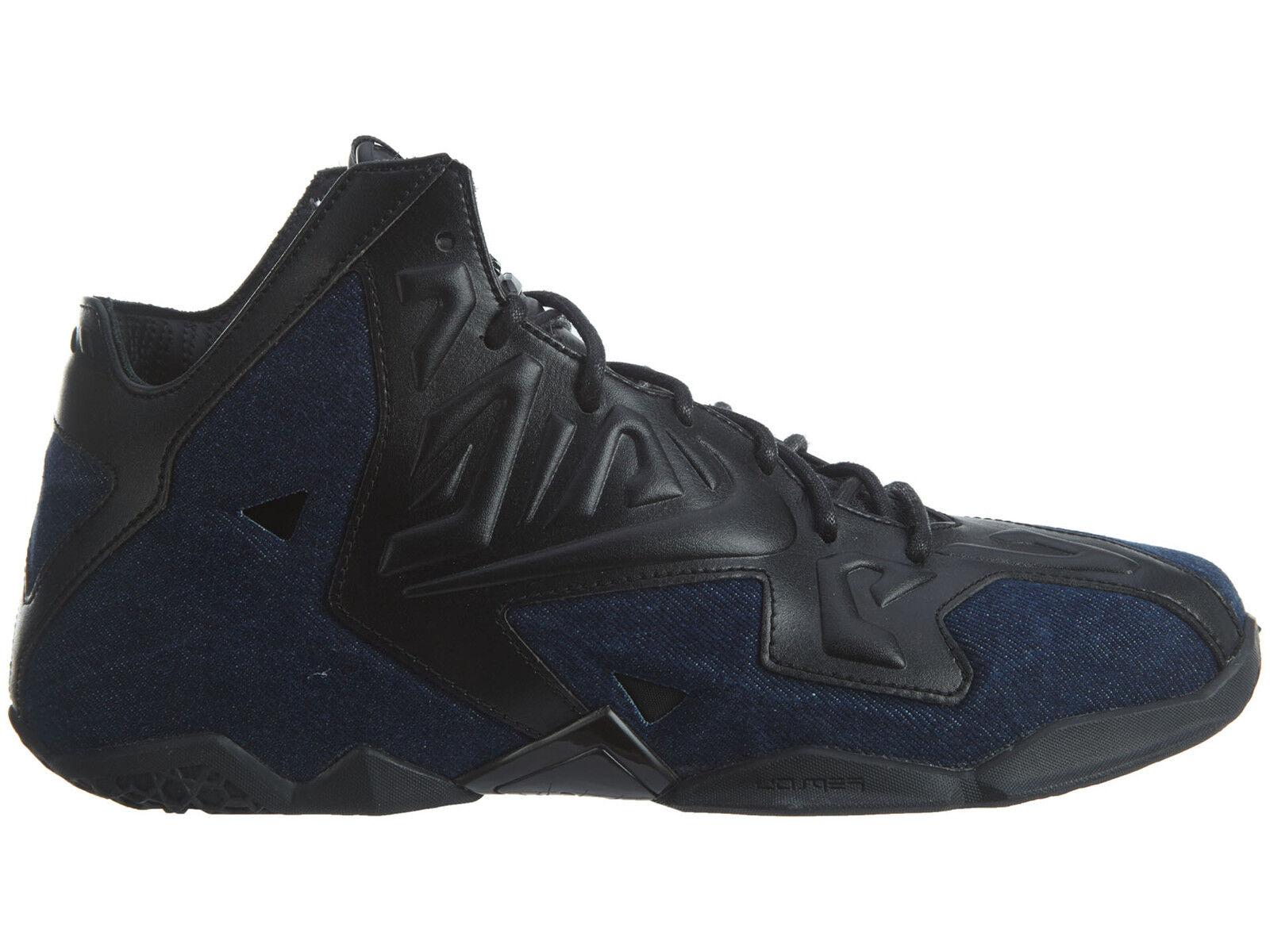 Nike lebron xi xi xi ext denim qs Uomo 659509-004 nero blu, scarpe da basket numero 10 7b71f9