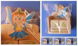 Calendario Boschi.Dettagli Su Calendario Perpetuo Fata Fatina Dei Boschi Fiori Flora Magia Dadi Cubi In Legno
